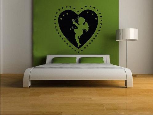 Love Angel Wall Sticker