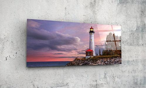 Lighthouse  UV Glass Painting