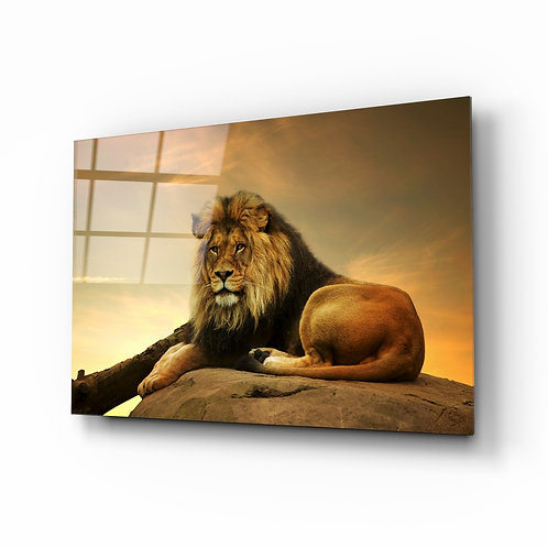 Lion Glass Printing