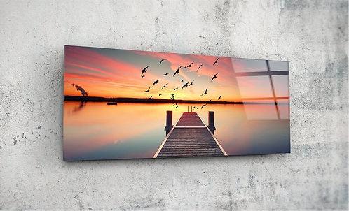 Dock  UV Glass Painting