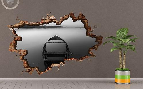 S&B Kayak 3D Wall Sticker