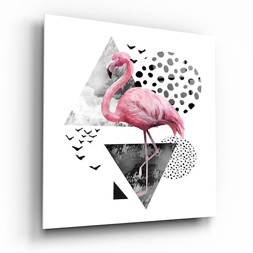 Flamingo UV Printed Glass Printing