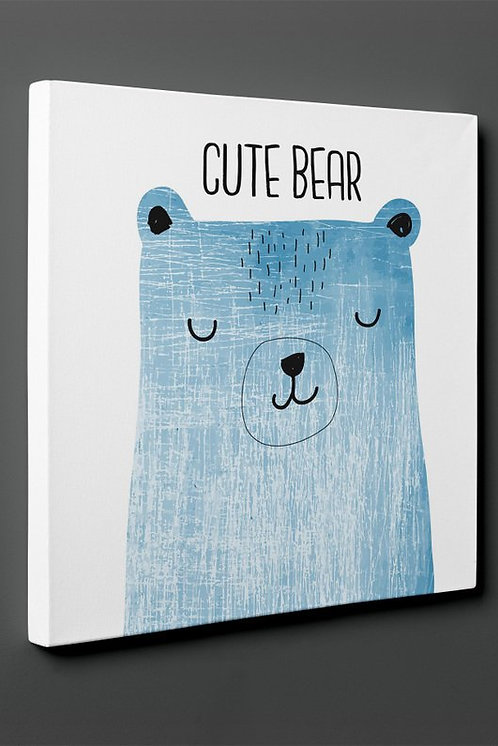 Cute Bear Canvas Printings