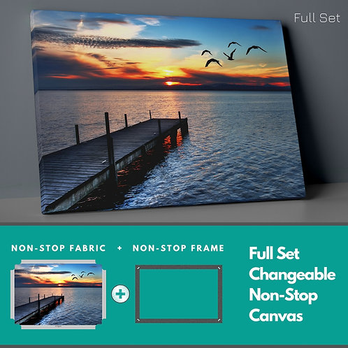 Sunset Non-Stop Canvas Printings