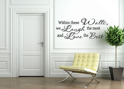 Love The Best Wall Sticker