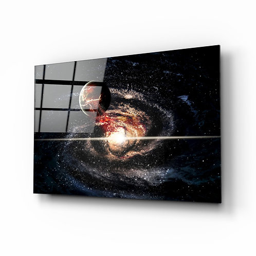 Space Glass Printing