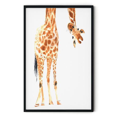 Giraffe Framed Wall Art