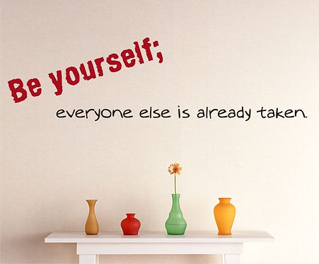 Be Yourself Wall Sticker
