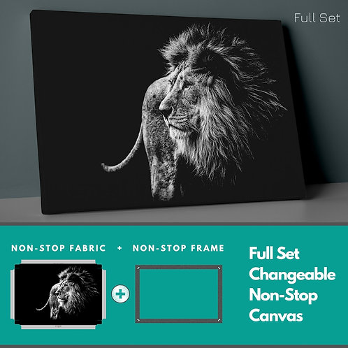 Lion Non-Stop Canvas Printings