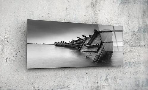 Shipwreck  UV Glass Printing