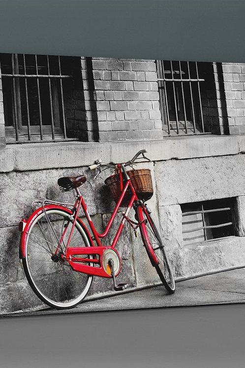 Red Bicycle Canvas Printings