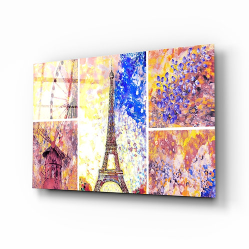 Eiffel Glass Printing