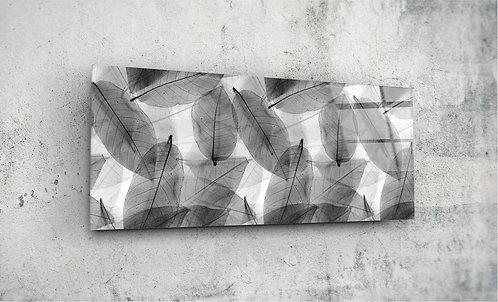 Monochrom Leaves  UV Glass Painting