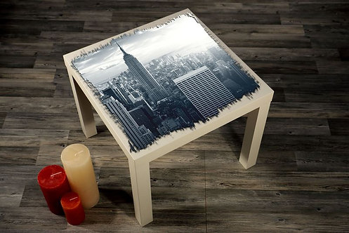 New York Printed Coffee Tables