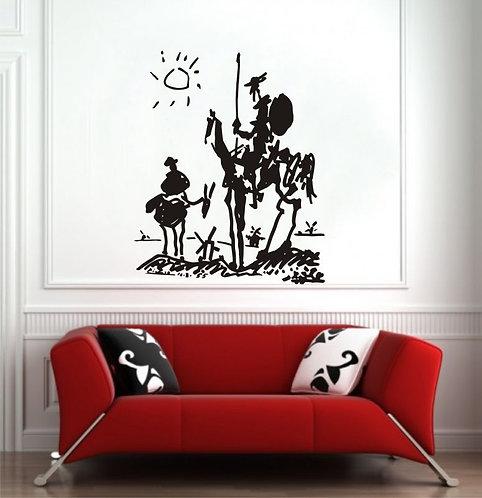 Don Quixote Wall Sticker