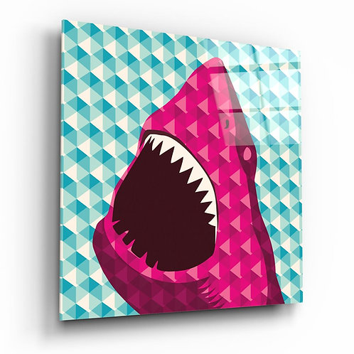 Shark UV Printed Glass Printing
