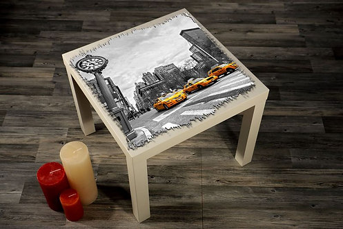Taxi Printed Coffee Tables