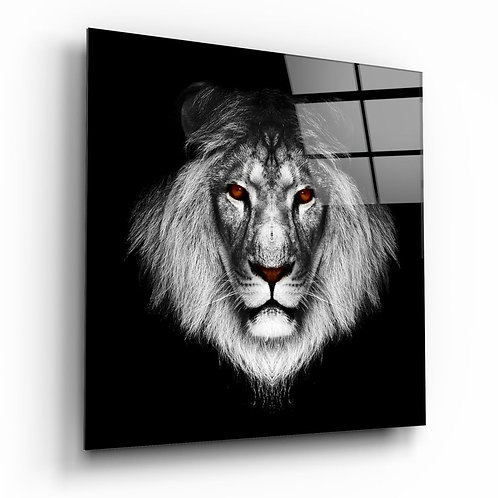 Lion UV Printed Glass Printing