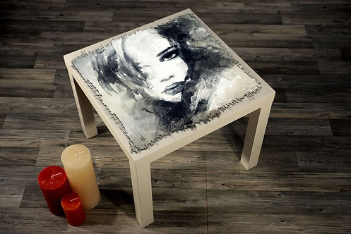 Abstract Printed Coffee Tables