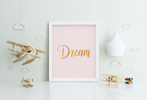 Dream Framed Printing