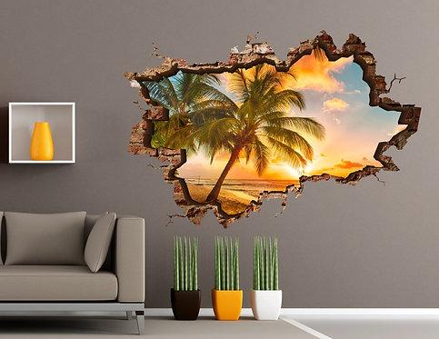 Palm 3D Wall Sticker
