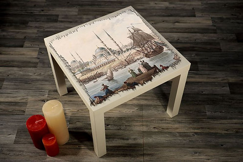 Historic Areas Of Istanbul Printed Coffee Tables