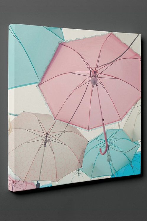 Colorful Umbrella Canvas Printings