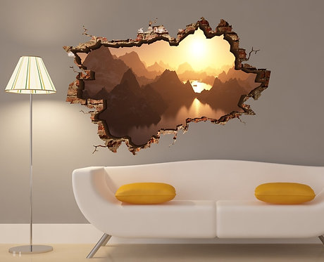 Sunset 3D Wall Sticker