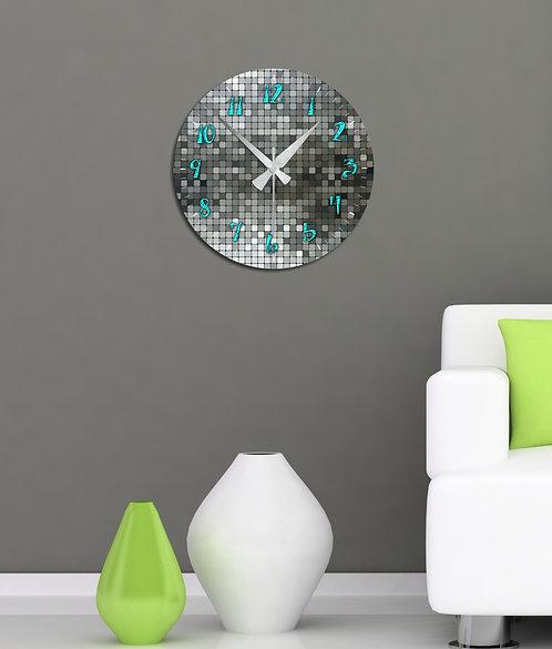 Disco MDF Clock