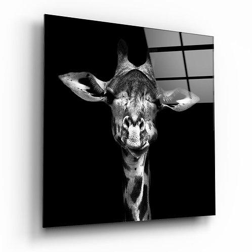 Giraffe UV Printed Glass Painting
