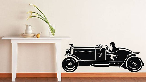 Classic Car Wall Sticker
