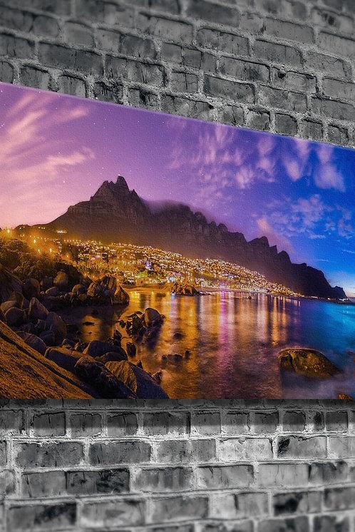 Beach Town  Canvas Printings