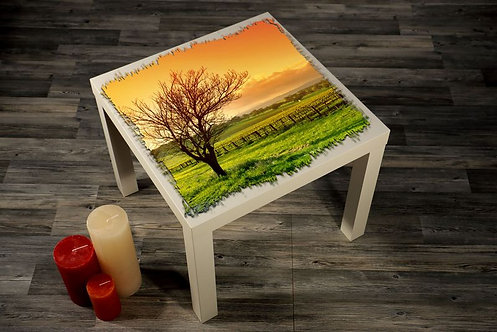 Nature Landscape Printed Coffee Tables