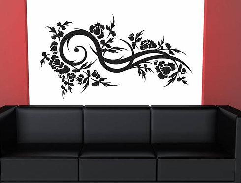 Floral Wall Sticker