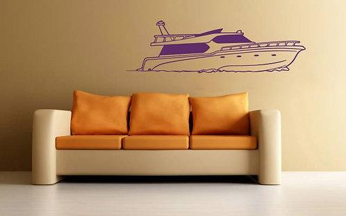 Boat Wall Sticker