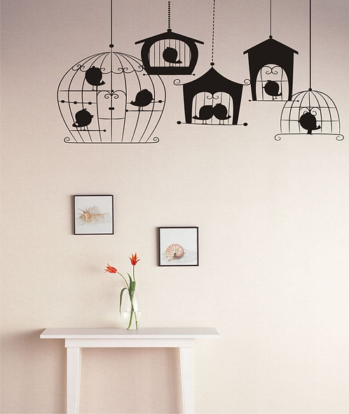 Cages Wall Sticker