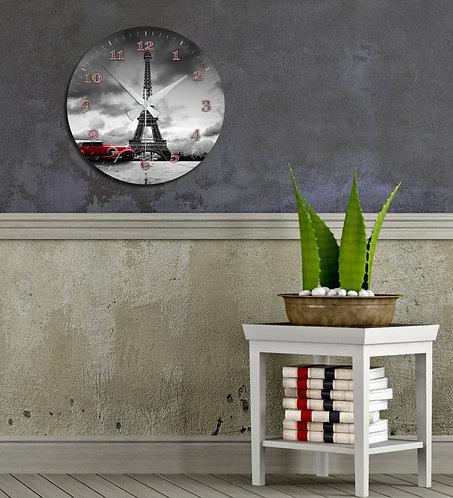 Eiffel MDF Clock