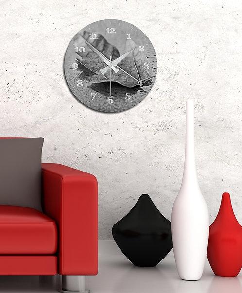 Leaf MDF Clock