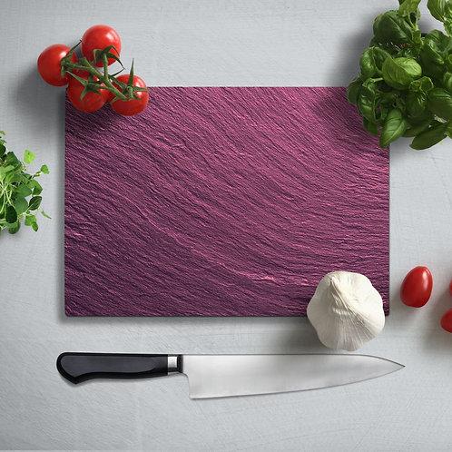 Granite Pattern Uv Printed Glass Chopping Board 35x25cm