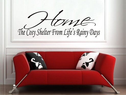 The Cozy Shelter Wall Sticker