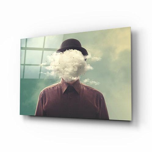 Cloud Man Glass Printing