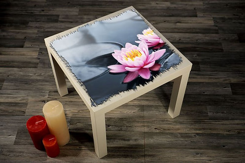 Flowers Printed Coffee Tables