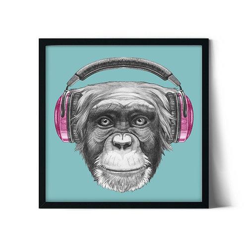 Monkey Framed Painting
