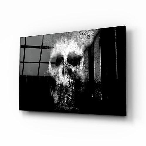 Skull Glass Printing