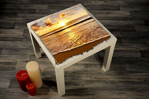 Beach Printed Coffee Tables