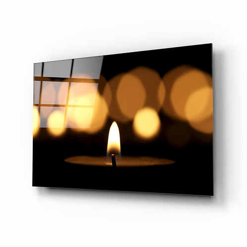 Candle UV Printed Glass Printing
