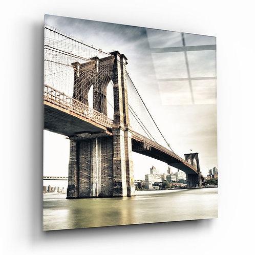 Brooklyn Bridge UV Printed Glass Printing