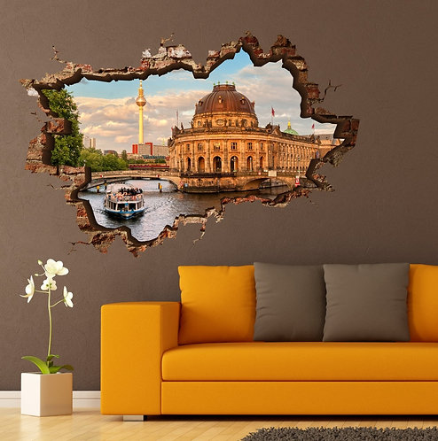 Dom Cathedral 3D Wall Sticker