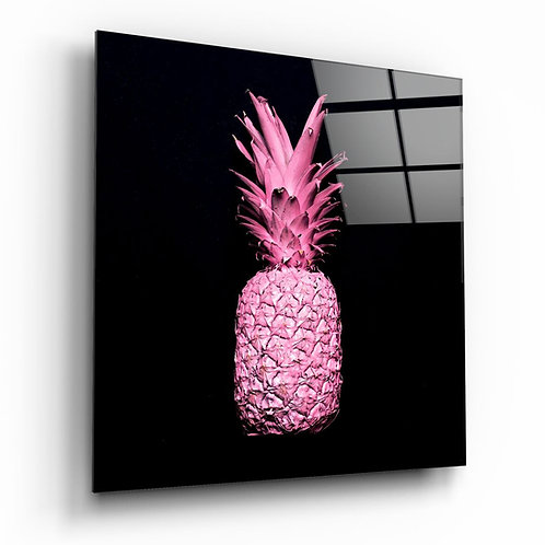 Pineapple UV Printed Glass Printing