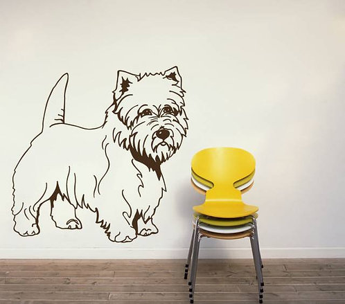 Yorkshire Terrier Wall Sticker